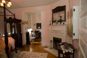 The Rose Room Fireplace