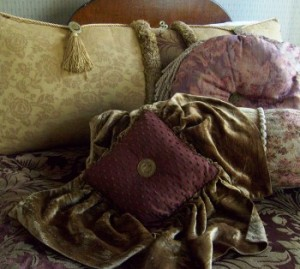 Luxurious Bedding by a Local Artist