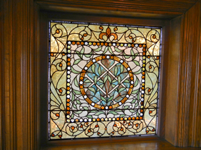 Exquisite Stained Glass Window